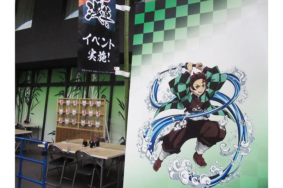 7月16日から浅草で「鬼滅の刃」とのコラボイベントが開催される【写真:ENCOUNT編集部】
