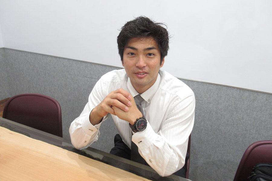 6月19日に放送された「有吉反省会」に出演し話題を呼んだ田代将太郎さん【写真:安藤かなみ】