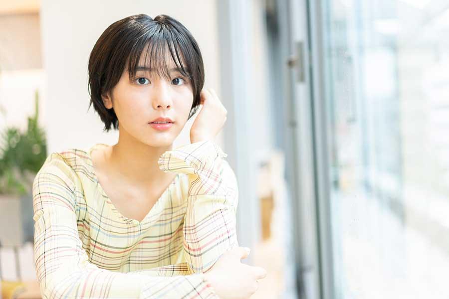 「ボイスⅡ」に出演する花岡すみれ【写真:舛元清香】