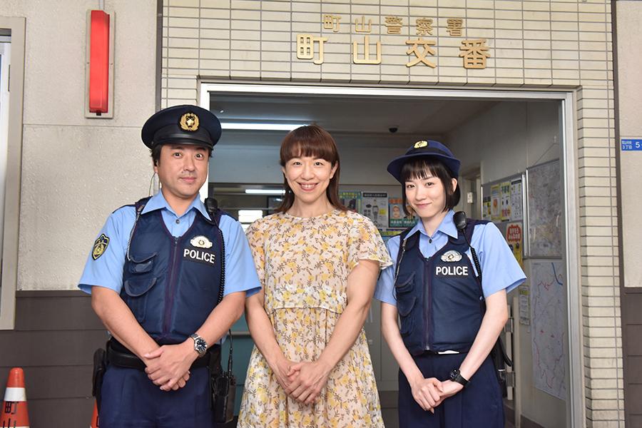 浜口京子「ハコヅメ」で下着盗難の被害女性役 永野&ムロと共演に「うれしかった」