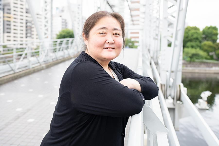 """""""女大魔神""""と言われた高山樹里さん【写真:荒川祐史】"""