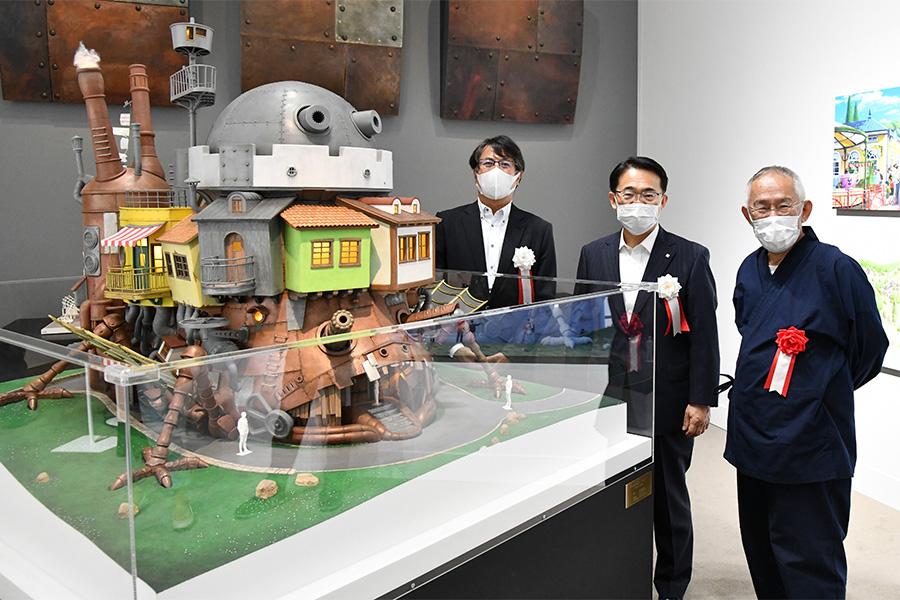 「ジブリパーク」のプレイベント展覧会が愛知で特別開催 「ハウルの城」建築模型を初公開