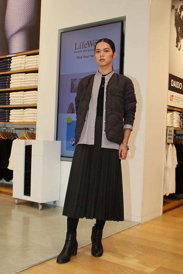 バンタン×ユニクロ、新・ボーダレスファッションのモデル【写真:ENCOUNT編集部】