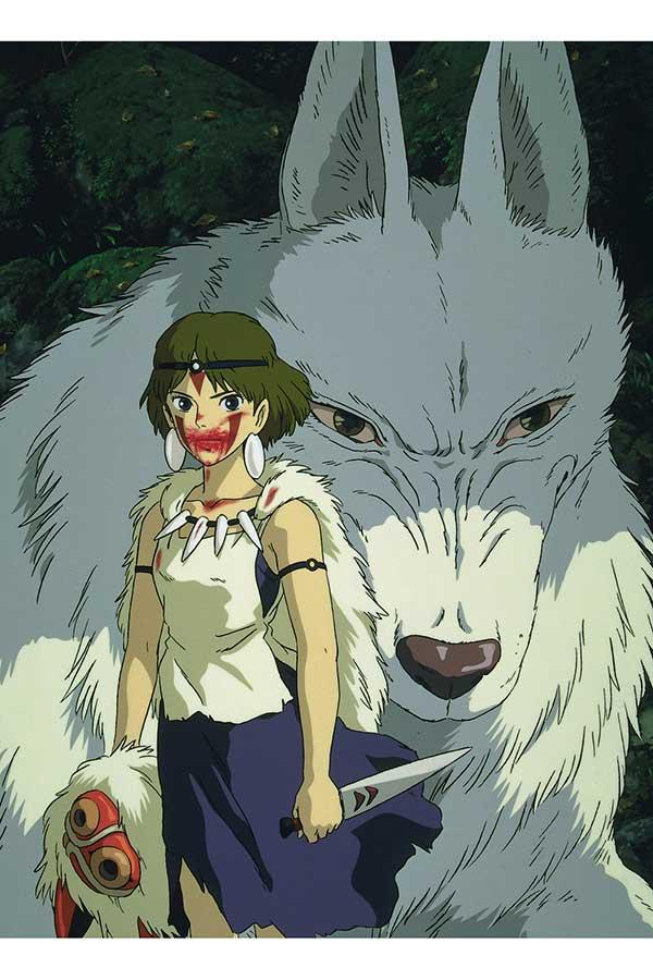 8月13日に放送される「もののけ姫」【写真:(C)1997 Studio Ghibli・ND】