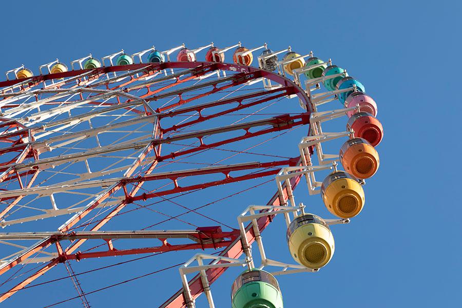 2022年8月31日に営業終了となる「パレットタウン大観覧車」【写真:Getty Images】