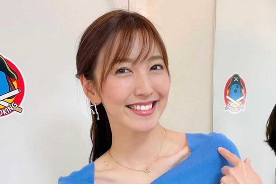 フジ小澤陽子アナ、免許更新報告のドアップ姿を公開「大人の魅力」「パーフェクト」の声