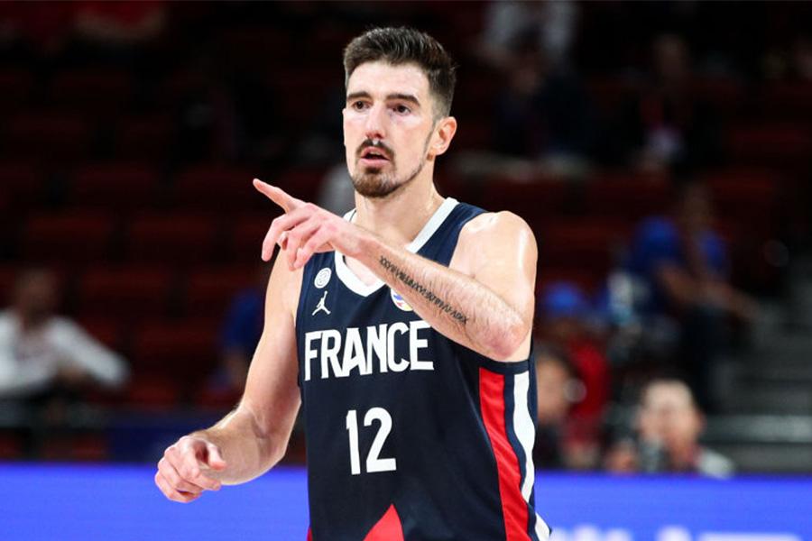 五輪バスケ男子仏代表のナンド・デ・コロ【写真:Getty Images】