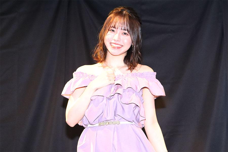SKE48の理系女子・佐藤佳穂、初DVD発売で「距離感の近さは大事にしている」