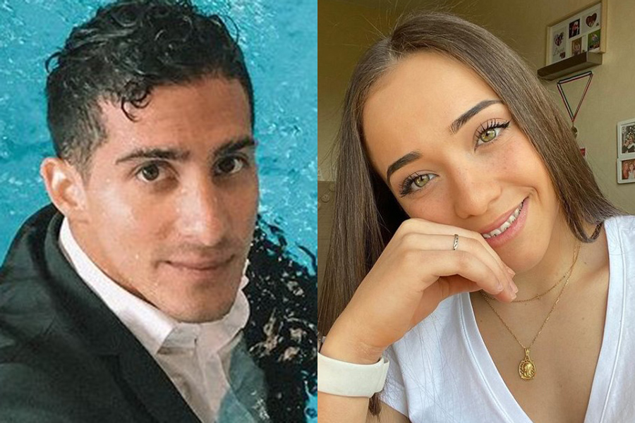 男子競泳のメキシコ代表ロメル・パチェコ(左)と女子体操のスペイン代表マリナ・ゴンサレス【写真:インスタグラム(@rommel_pacheco)、(@marinagonzalez.02)より】