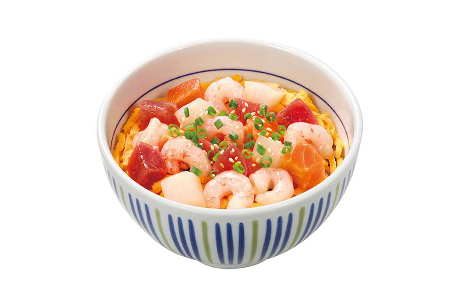 「たっぷり甘えび海鮮丼(並盛)」のイメージ写真