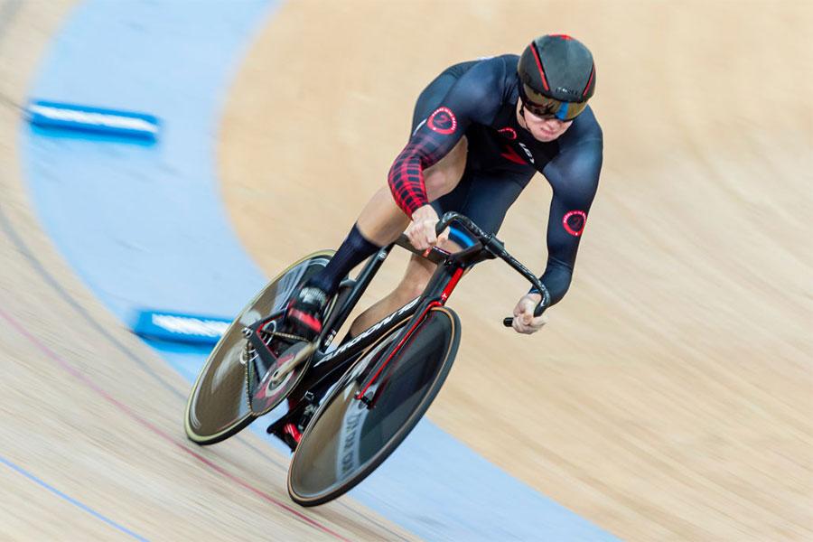 自転車カナダ代表のニック・ワム【写真:Getty Images】