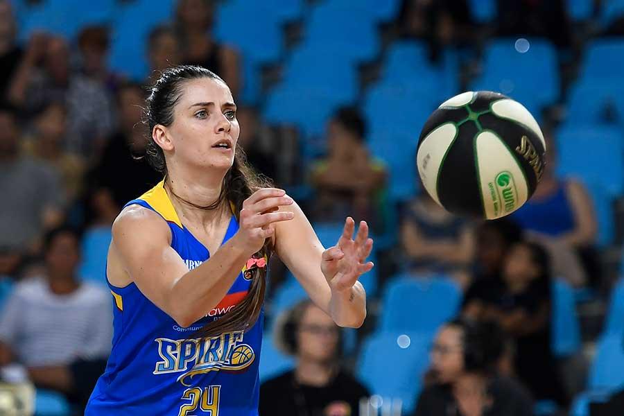 東京五輪・バスケットボール女子オーストラリア代表のテッサ・レビー【写真:Getty Images】