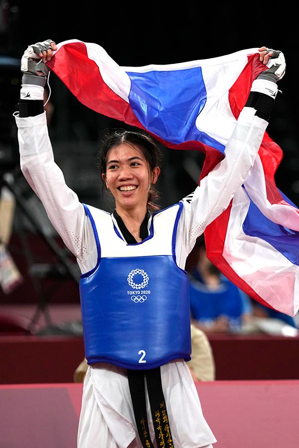 東京五輪・女子テコンドー49キロ級タイ代表のパニパック・ウォンパッタナキット【写真:AP】