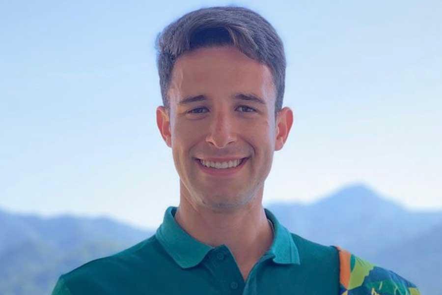 東京五輪・男子ボートのブラジル代表ルカ・ベルテインフェレイラ【写真:インスタグラム(@lucasverthein)より】