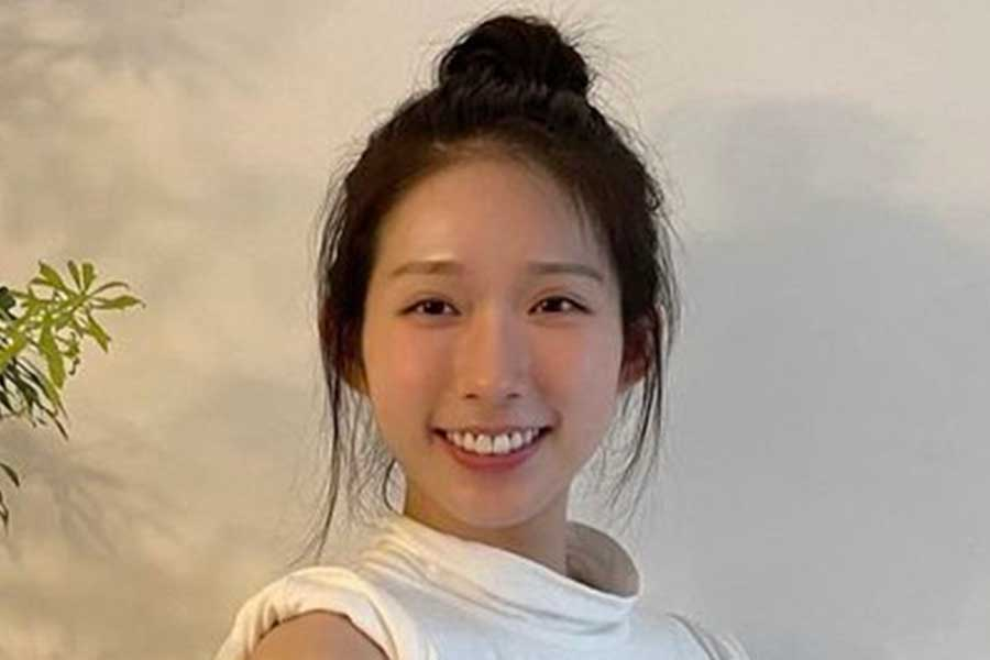 東京五輪・女子フェンシング香港代表の江旻ケイ【写真:インスタグラム(@vmwkong)より】
