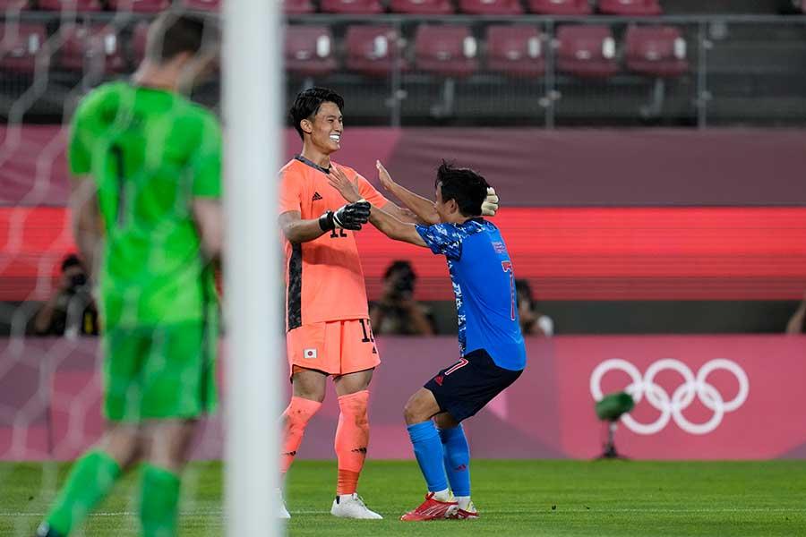 日本はPK戦でニュージーランドに勝利【写真:AP】