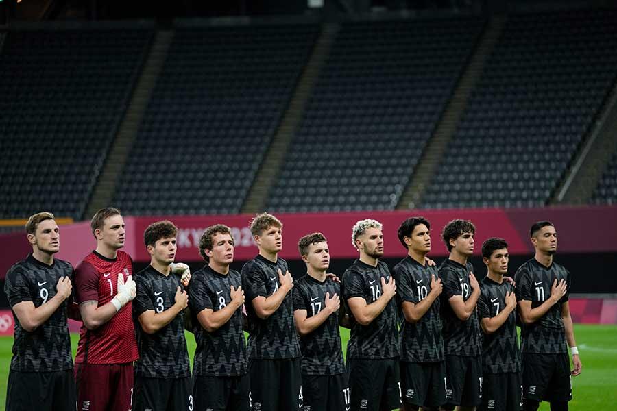 東京五輪サッカー男子U-24ニュージーランド代表【写真:AP】