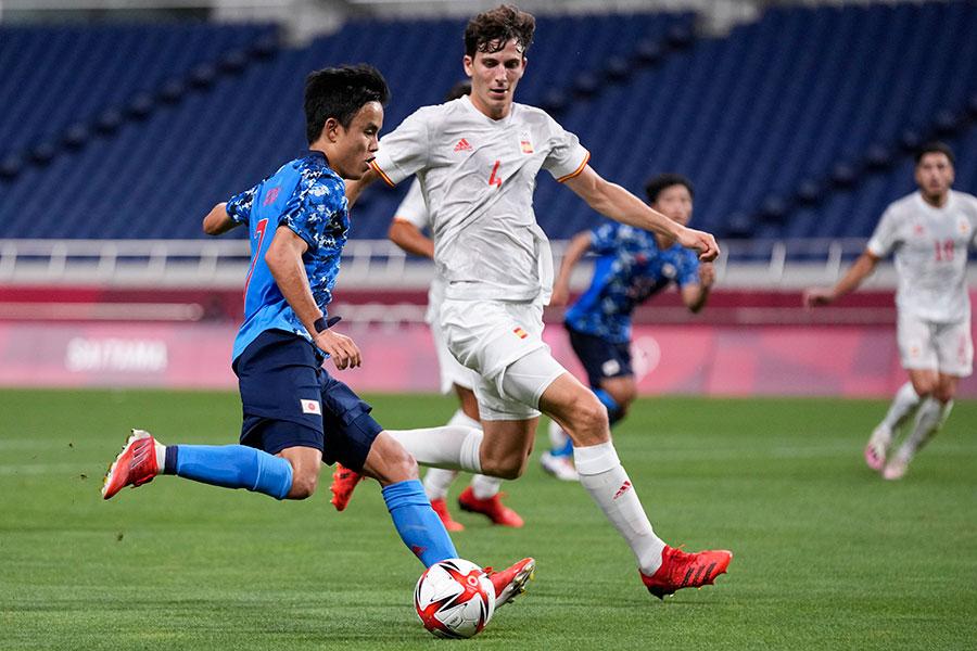 サッカー日本男子の準決勝が驚異的な視聴率を記録【写真:AP】