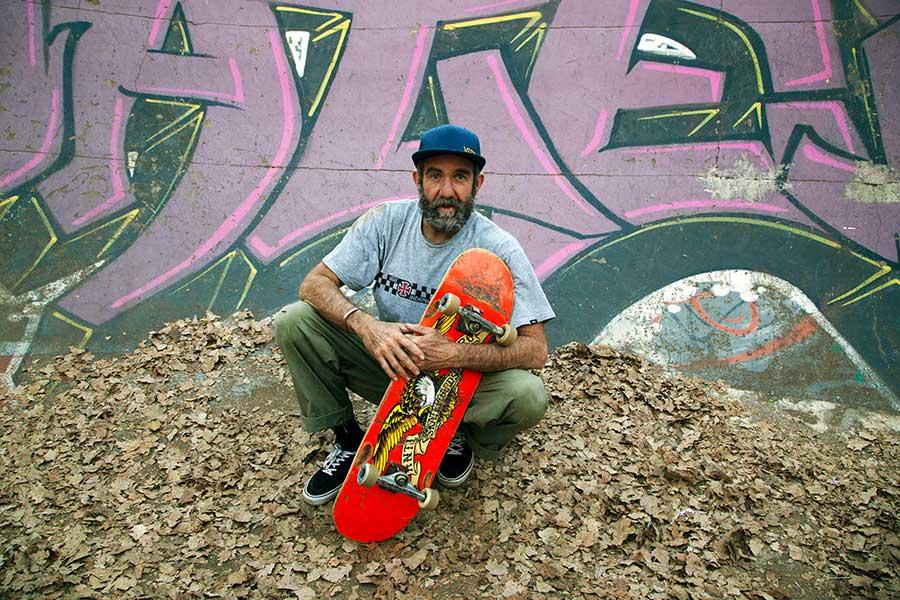 東京五輪・スケートボードのパーク南アフリカ代表ダラス・オーバーホルツァー【写真:AP】
