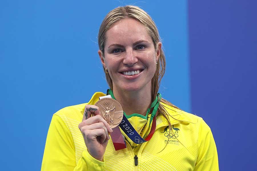 東京五輪・競泳女子オーストラリア代表エミリー・シーボーム【写真:Getty Images】