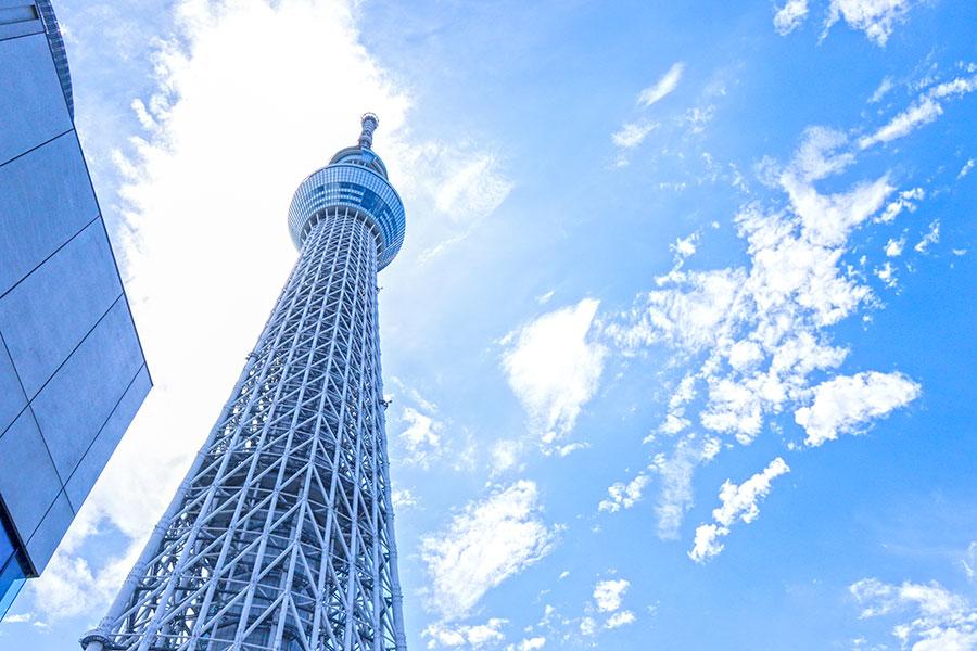 東京スカイツリー【写真:写真AC】