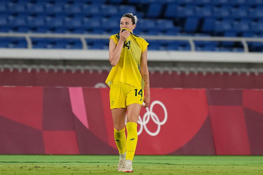女子サッカーのオーストラリア代表アラナ・ケネディ【写真:AP】
