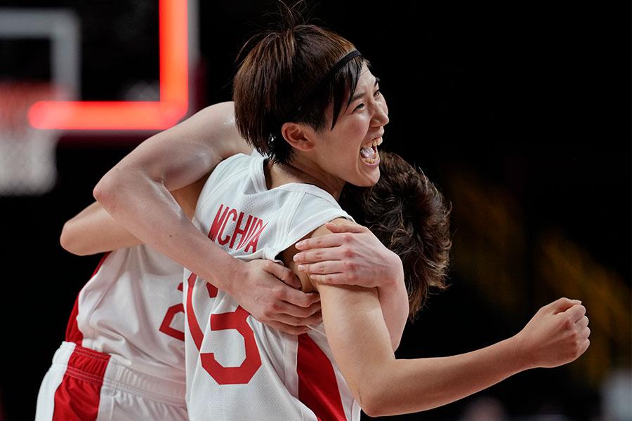 バスケットボール女子日本代表の町田瑠唯【写真:AP】