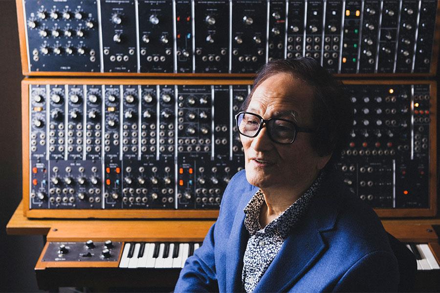 冨田勲さんの代表作「月の光」、閉会式「聖火納火」で採用 世界的なシンセサイザー音楽家