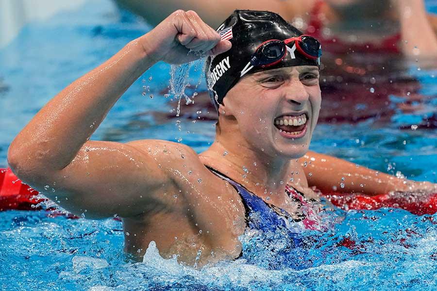 「ありがとう、東京!」 競泳2冠女子選手が米国から感謝「驚くべき開催国でした」