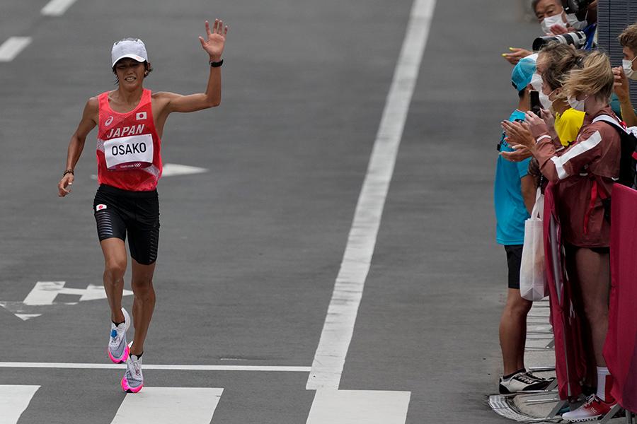 男子マラソン・大迫傑の力走が高視聴率【写真:AP】