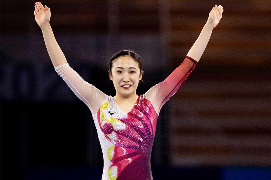 東京五輪・トランポリン女子代表の森ひかる【写真:Getty Images】