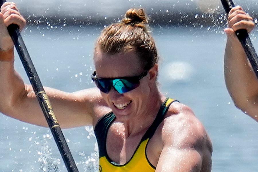 東京五輪・女子カヤックのオーストラリア代表として出場したジョー・ブリジェン・ジョーンズ【写真:AP】