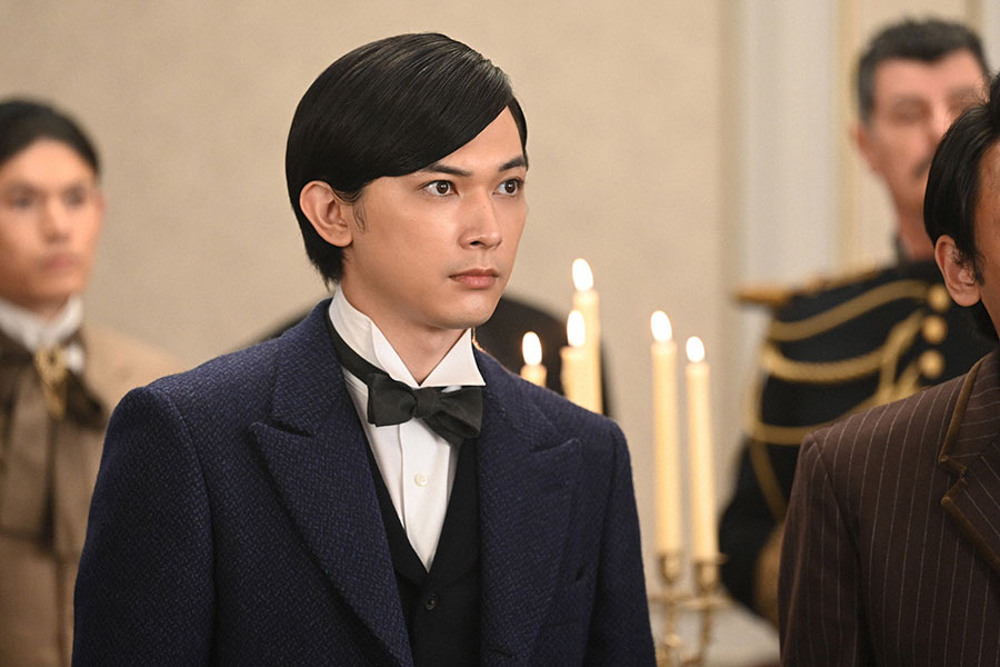 渋沢栄一(篤太夫)を演じる吉沢亮【写真:(C)NHK】