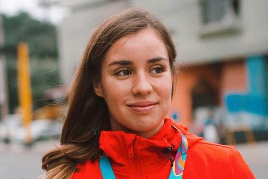 東京五輪・女子トランポリン女子のメキシコ代表ダフネ・ナバロロサ【写真:インスタグラム(@dafnenavarrol)より】