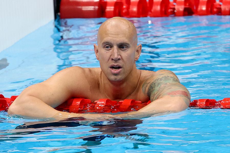 東京五輪・競泳のカナダ代表ブレント・ヘイデン【写真:Getty Images】