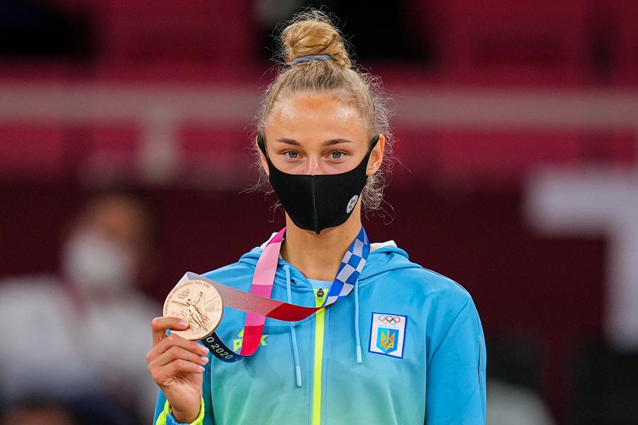 ウクライナ代表のダリア・ビロディド【写真:Getty Images】