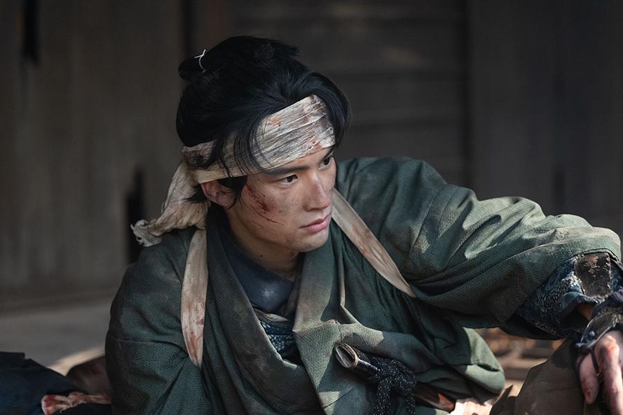 渋沢平九郎を演じる岡田健史【写真:(C)NHK】