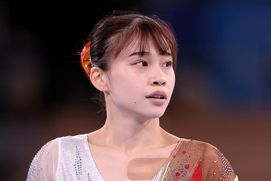 体操女子日本代表・杉原愛子【写真:Getty Images】