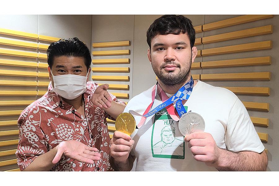 柔道金メダルのウルフ・アロン、意外なプライベート明かす【写真:(C)ニッポン放送】
