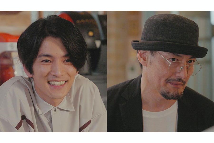 「ぼくの推しは王子様」に出演する渡邊圭祐(左)と山口馬木也【写真:(C)フジテレビ】
