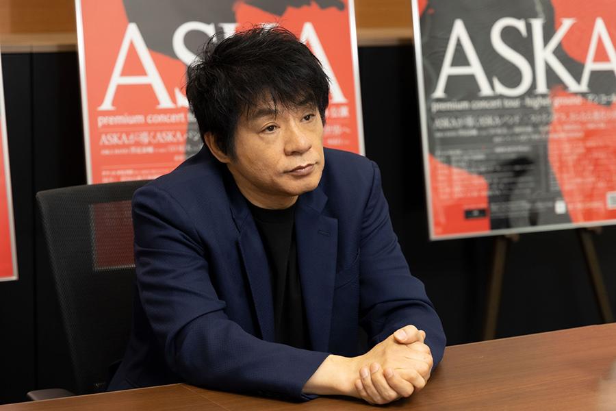 音楽活動を再開しているASKAさん【写真:山口比佐夫】