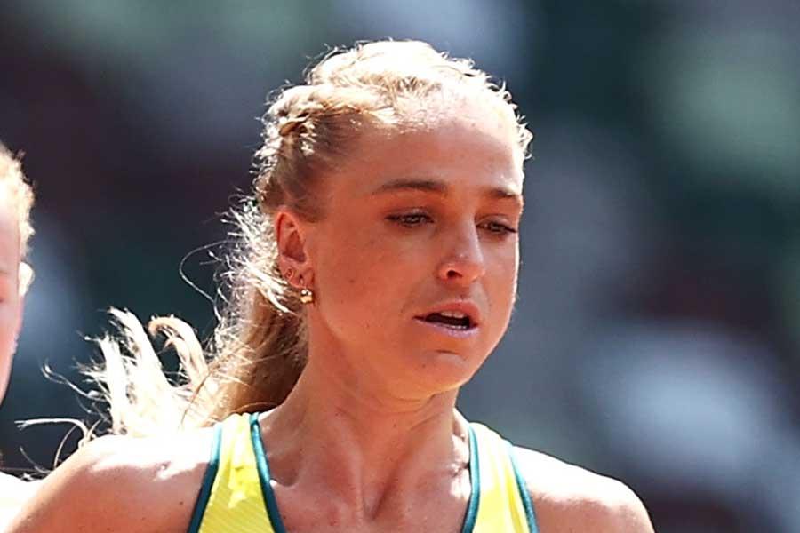 アキレス腱断裂の大けがを負ったオーストラリア代表のジュヌビエーブ・グレグソン【写真:Getty Images】