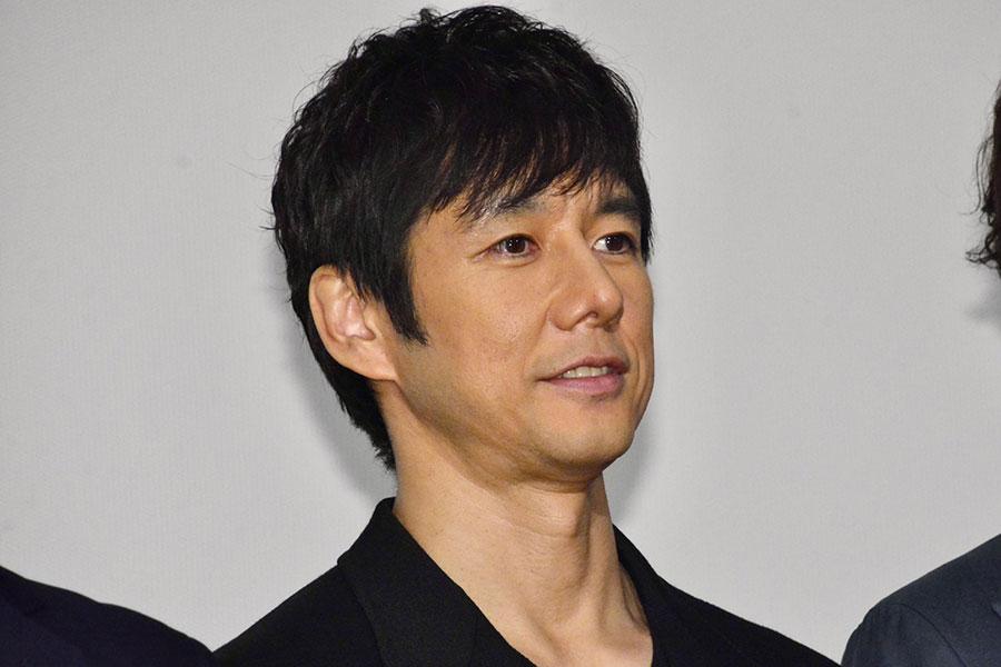 舞台あいさつに登壇した西島秀俊【写真:ENCOUNT編集部】