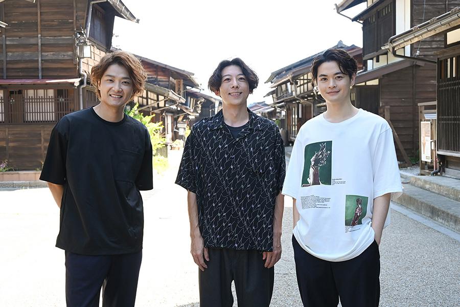 井上芳雄、高橋一生、瀬戸康史の3人旅実現 BS-TBS「4年半という年月かけてついに」