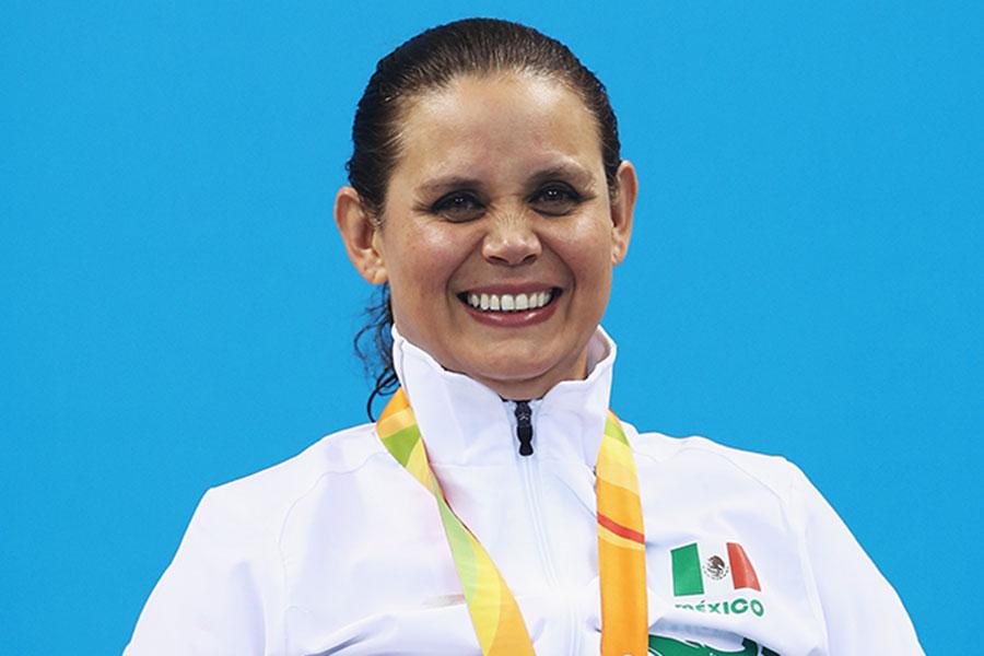 女子競泳のメキシコ代表ネリ・ミランダ エレラ【写真:Getty Images】