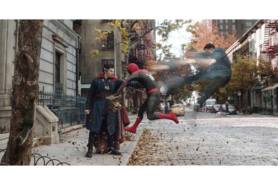 「スパイダーマン」シリーズ最新作の予告映像解禁【写真:(C)2021 CTMG.(C)& 2021 MARVEL. All Rights Reserved.】