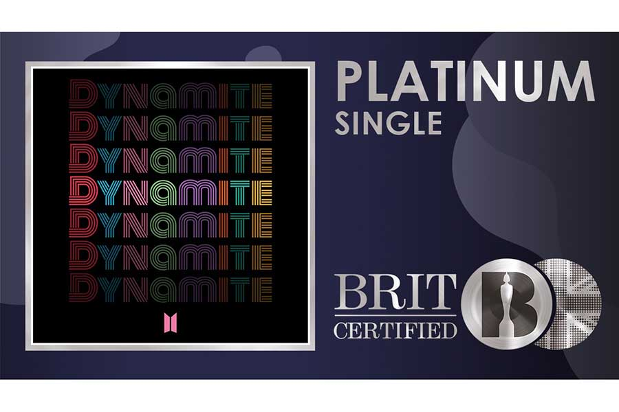 BTS「Butter」、日本レコード協会が「プラチナ」認証 史上最短記録を達成