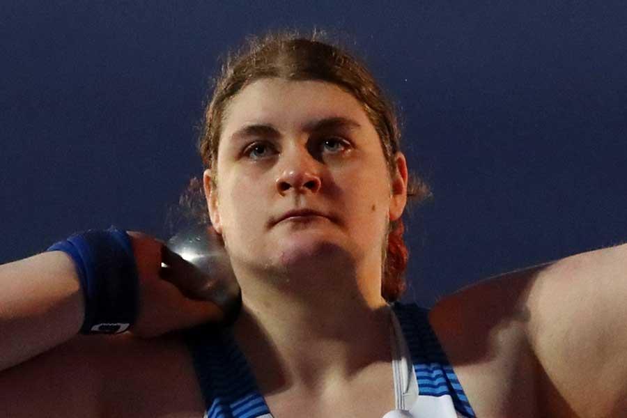 東京パラリンピック・陸上女子砲丸投げ英国代表のサブリナ・フォーチュン【写真:Getty Images】