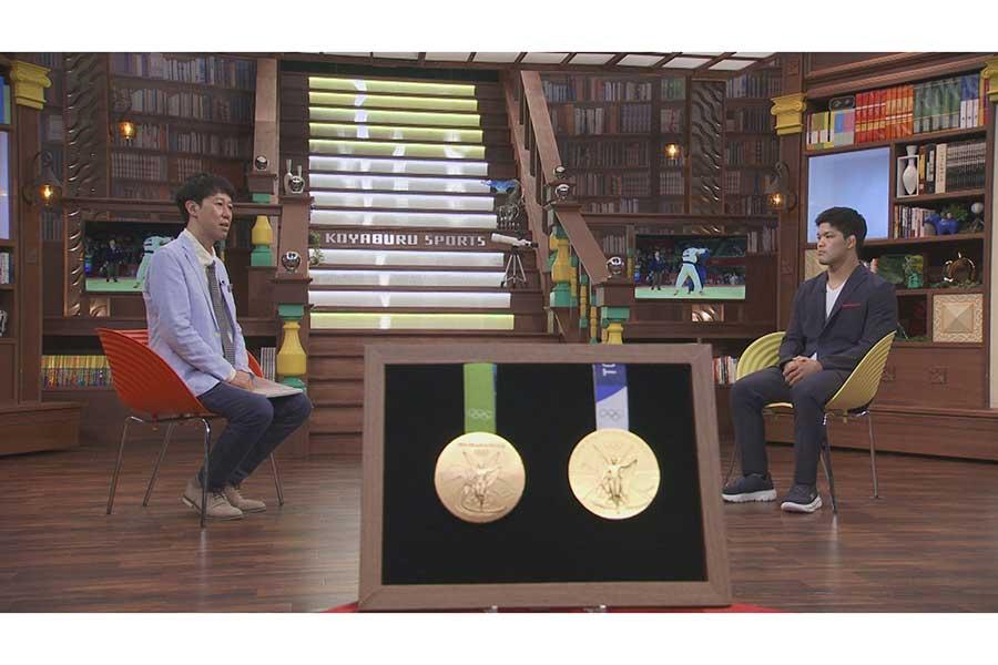 大野将平、五輪後初のテレビ出演 小籔との2ショット対談で五輪の舞台裏など明かす