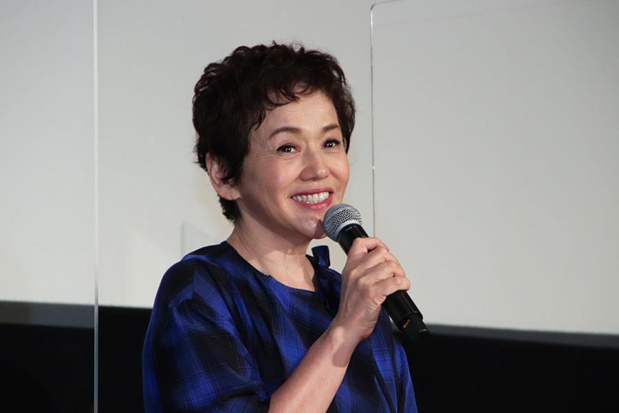 映画「岬のマヨイガ」初日舞台あいさつに登壇した大竹しのぶ【写真:ENCOUNT編集部】